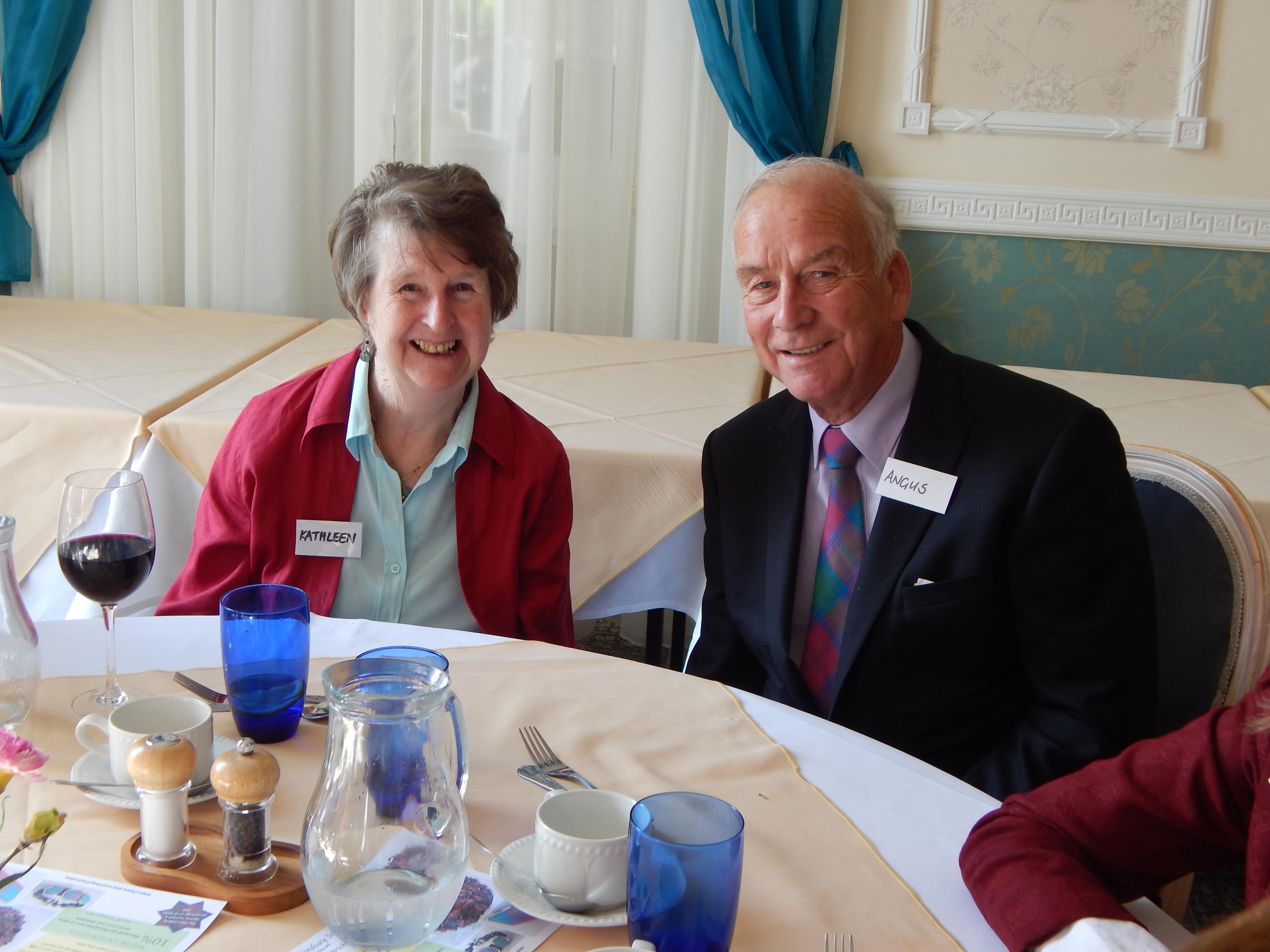 Kathleen and Angus Lindsay of Lancashire
