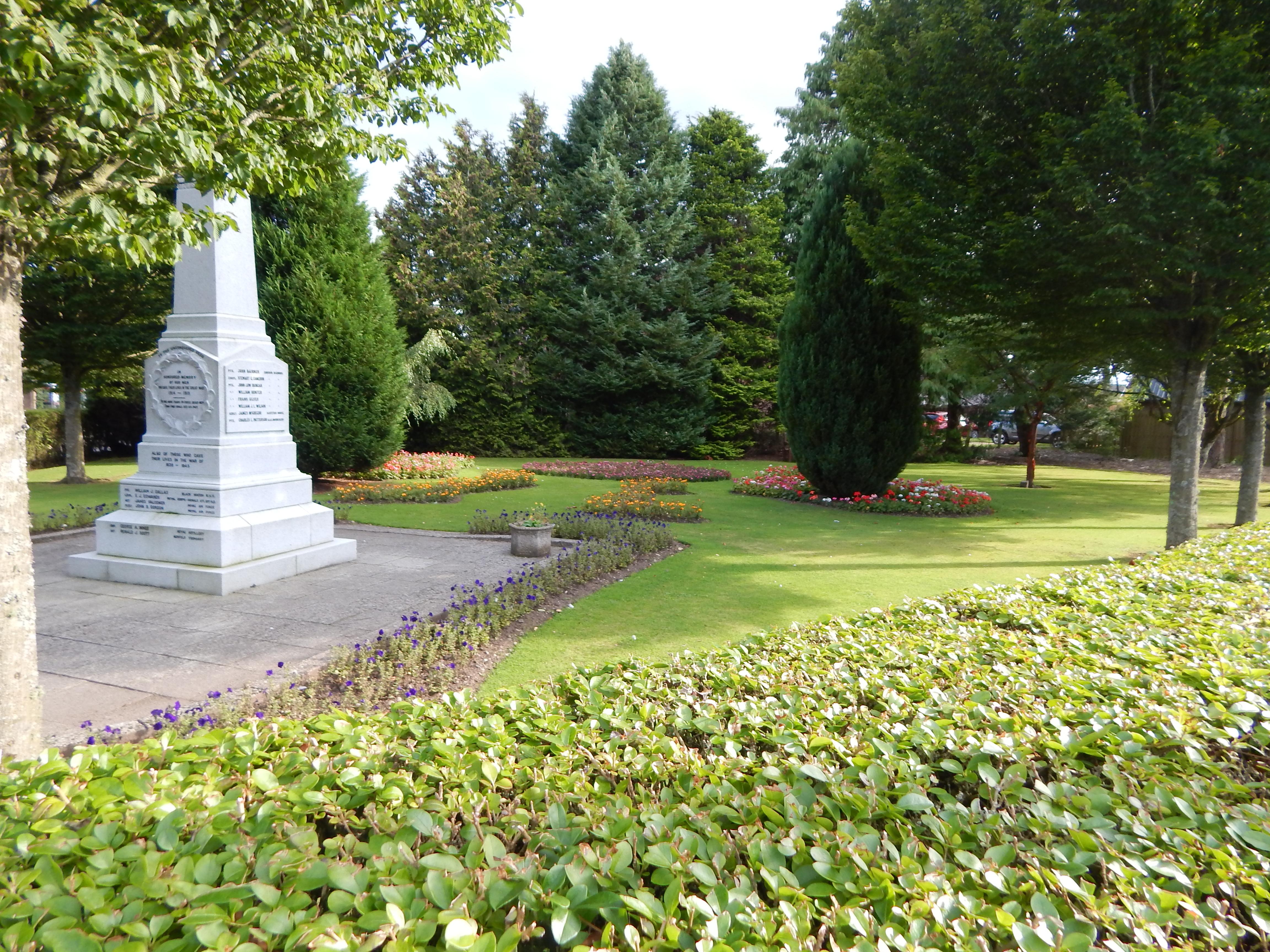Edzell War Memorial